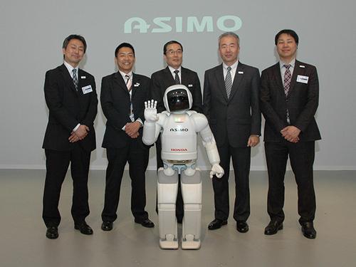 Honda's ASIMO robot. (Source: Honda)