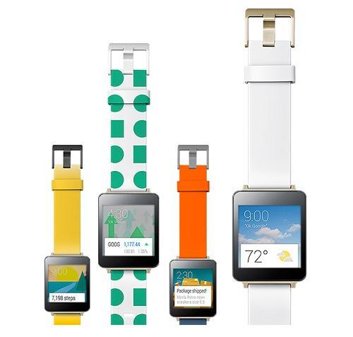LG G smartwatch. Source: LG