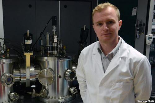 Dr. Jon Major, a researcher at the University of Liverpool's Stephenson Institute for Renewable Energy, has applied for a patent on the use of magnesium chloride, a common chemical used in the processing of tofu, in solar cell manufacturing. Source: University of Liverpool