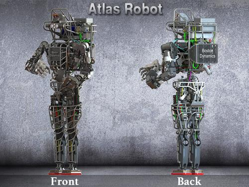 Six teams are using the Atlas robot from Boston Dynamics, which was loaned to them by DARPA.
