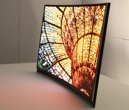Samsung's 55-inch curved OLED display
