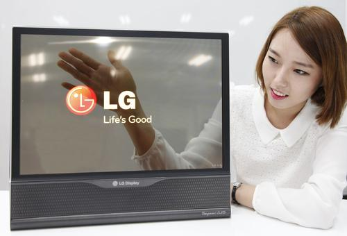 Unlike LCDs, whose typical transmittance is around 10%, LG's device offers a transmittance of 30%.(Source: LG)