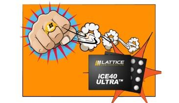 Lattice's iCE40 Ultra FPGAs Make Smart Devices Smarter