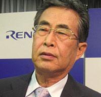 Hisao Sakuta, CEO Renesas Electronics (Source: EE Times/Junko Yoshida)