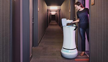 Robot Room Service Hits Aloft Hotel Group