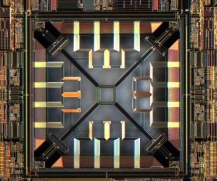 A Memsic accelerometer. (Source: Memsic)