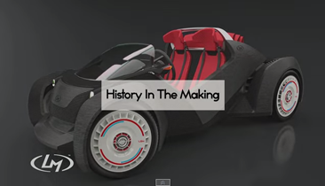 World's First 3D Printed Car Live Printed This Week