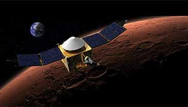 Mars Probe Looks for Atmosphere 'Lost in Space'