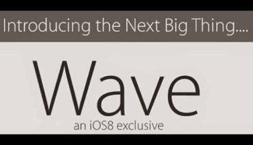 iSilly People Should Not Use Wave for iOS8