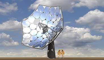IBM Water Cooling Enables a Super Solar Dish