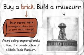 Power Week: Add Your Mark to the Nikola Tesla Museum