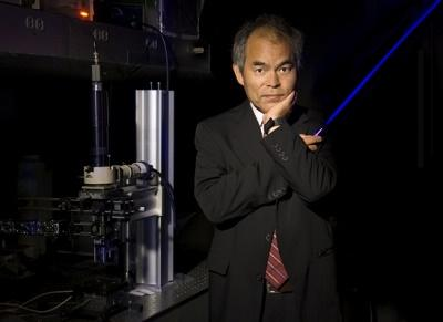 The 2014 Nobel Prize in Physics has been awarded to three researchers, including Shuji Nakamura, professor of materials and electrical and computer engineering at the University of California, Santa Barbara. Nakamura is also co-director of the UCSB Solid StateLighting & Energy Electronics Center.(Image: UCSB/Randall Lamb)