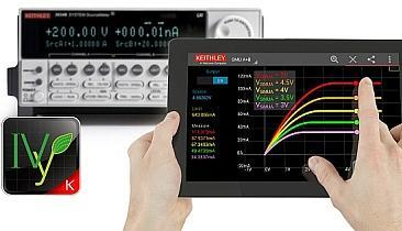 Keithley has announced an app called IVy for controlling source-measure units with an Android device.