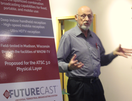 Zenith R&D Lab VP Wayne Luplow explains Futurecast.