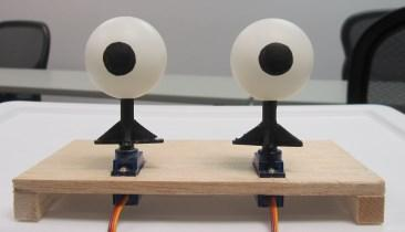 Building a Pair of Animatronic Robot Eyes