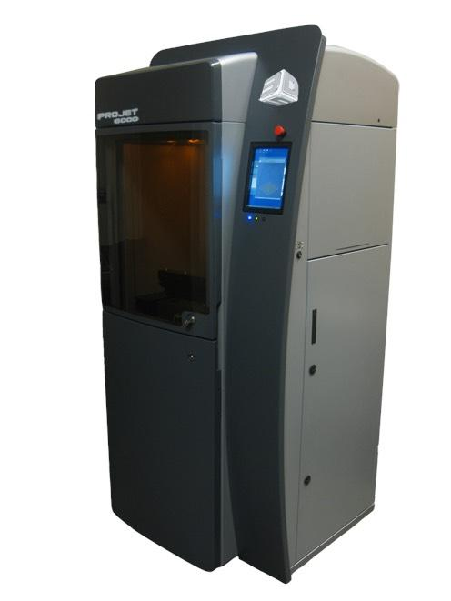 Professional 3D printers like this ProJet 6000 from 3D Systems deliver many more options than the 'toy' models used by consumers.