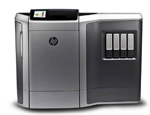 HP provided this image of one possible industrial design for one of its pending 3D printers.