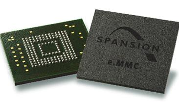 Spansion's Foray Into e.MMC Market