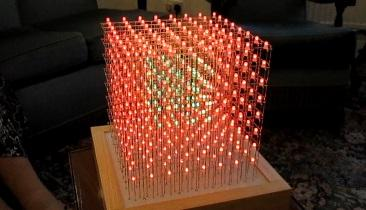 Creating an 8x8x8 3D LED Cube: The Base PCB