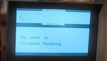 Stephen Hawking: How He Speaks & Spells