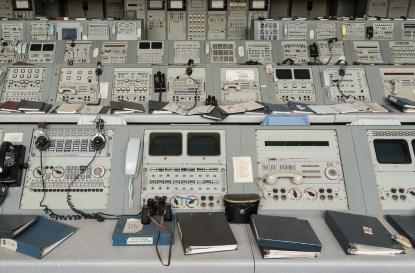 I counted more than 100 analog meters that I could identify in this picture (which is presented here with the permission of Shaun O'Boyle), but there may be quite a few more. (Click here for a larger image.)