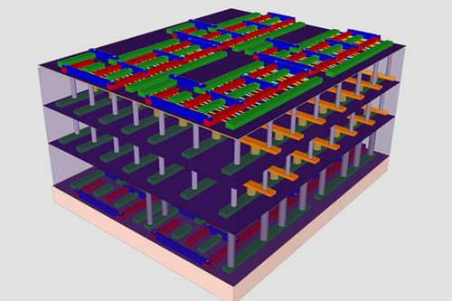 True 3-D Chips Harness Nanotubes