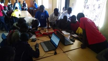 The Fundi Lab does outreach to many local schools and even over to their neighbors in Rwanda.
