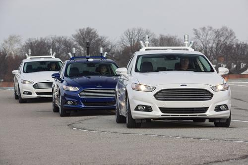 Three Ford Fusions have been adapted to autonomous self driving by the University of Michigan.