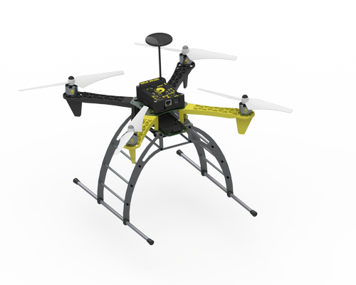 Robotic quadcopter produced using Canonical's Ubuntu Core.