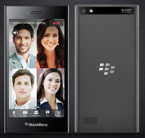 The BlackBerry Leap debuted at MWC 2015.