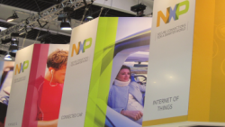 NXP's booth at MWC