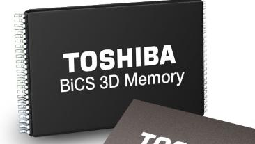 Toshiba Ups Ante in 3D NAND Fray