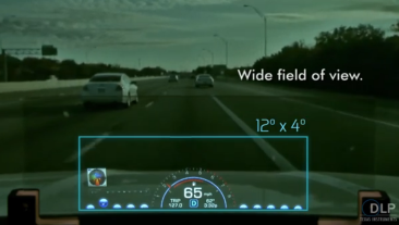 Is Head-Up Display Future ADAS Screen?