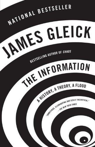 James Gleick's book chronicles the emergence of information theory and the role of Claude Shannon and others have had in its development.