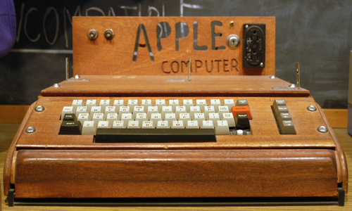 The Apple-I computer was invented by Wozniak for his own use since he wanted to experiment with computing at home when all that existed in those days were unaffordable mainframes.