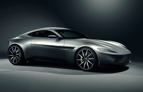 James Bond's ride made especially for the new Columbia Pictures movie Spectre, where he will be car chasing the bad guys hybrid Jaguar C-X75 concept super-car.