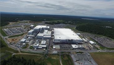 Aerial view of Fab 8 in Malta, N.Y. Source: GlobalFoundries