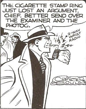A voice-only mobile phone like Dick Tracy's Wrist Radio would have the advantage of voice communication anywhere, but extremely low power operation and long battery life. 