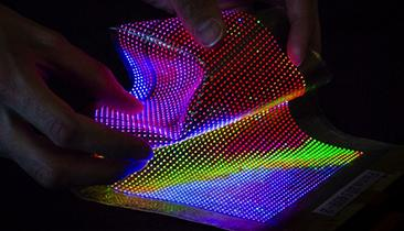 LED Displays Get Wearable