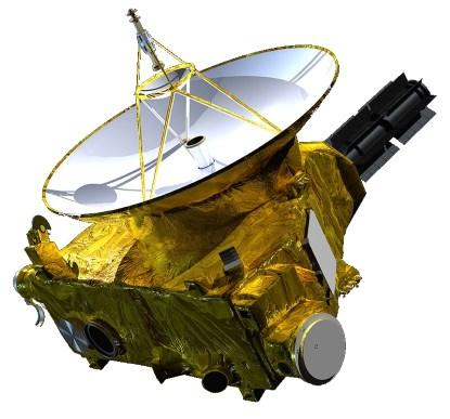 The New Horizons interplanetary space probe (courtesy NASA).
