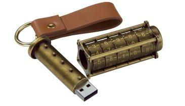Cryptex Steampunk USB Memory Sticks