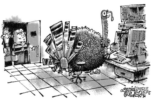 November 2015 Cartoon Caption Contest: �Got Gobble?�