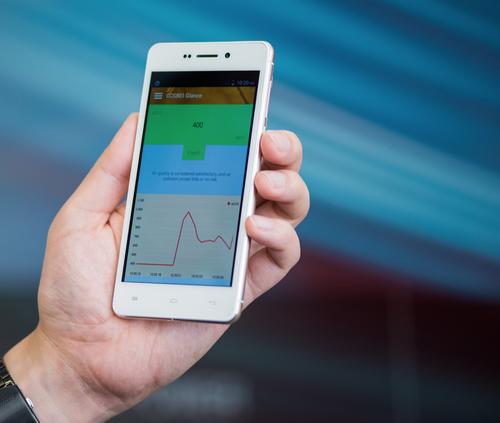 Smartphones Get Gas Sensor Embedded