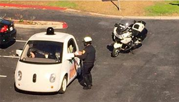 Google's Self-Driving Car Busted For Driving Too Slow