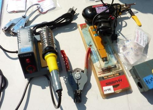 You can find all kinds of used soldering tools at swapfests, such as those at MIT.