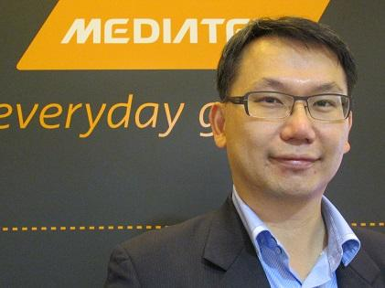 JC Hsu, MediaTek's corporate vice president responsible for its automotive business