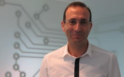 Sequans CEO Georges Karam at his office in Paris