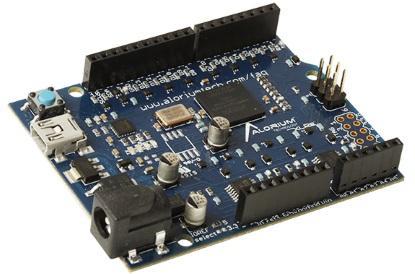 XLR8 FPGA-based Arduino Uno clone (Source: Alorium Technology)