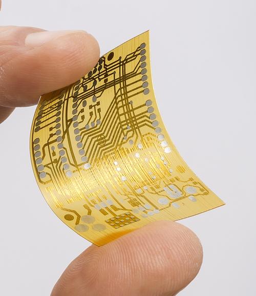 A printed circuit board printed on a Nano Dimension 3D printer. (Source: Nano Dimension)