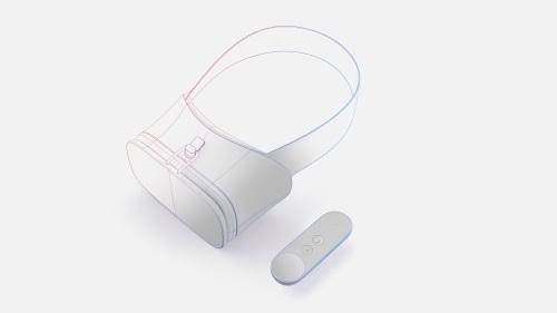 Most Daydream headsets will be passive smartphone containers like Samsung's GearVR. (Images: Google)